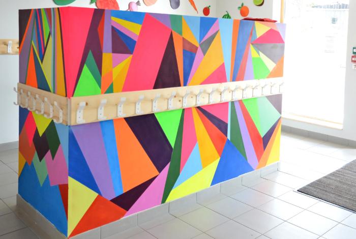 Fresque artiste peintre graffitiste Mehdi Ichard (© MS Janno-Clément)