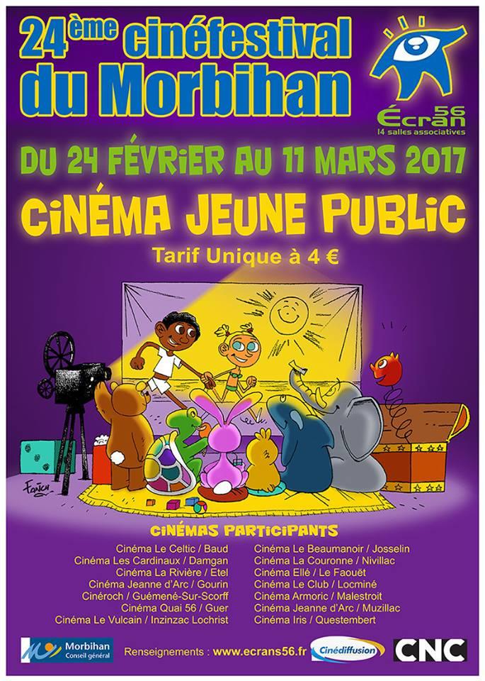 CINÉFESTIVAL du Morbihan  –  Écran 56