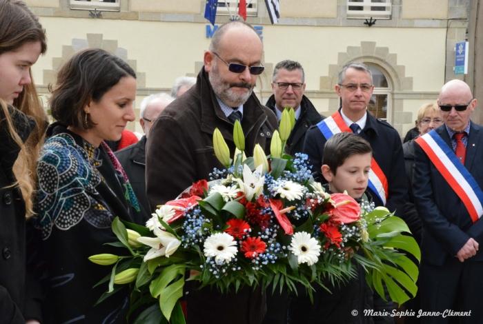 18 Mars 2018 – Commémoration du centenaire de la mort de Jean Corentin carré à Le Faouët