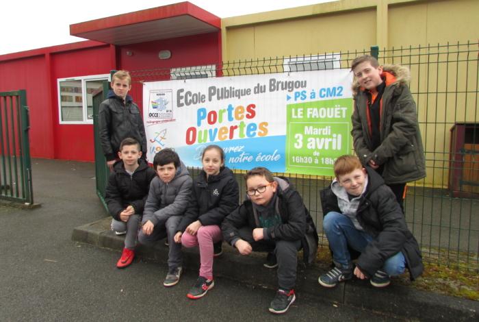 Portes ouvertes école publique du Faouët – groupe scolaire du Brugou