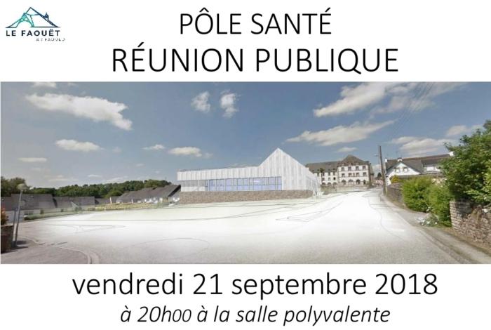 Pôle SANTÉ – Réunion publique