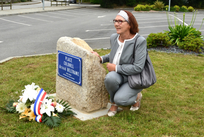 Inauguration Place Colonnel Arnaud Beltrame