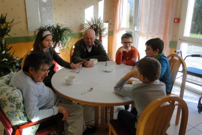 Après-midi vec les enfants du Groupe scolaire du Brugou ©patrick-lebris