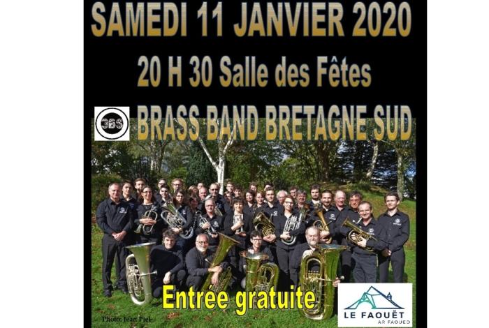 Concert du nouvel An avec Bras Band Bretagne Sud