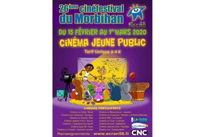 24ème CINÉFESTIVAL du Morbihan  –  Écran 56