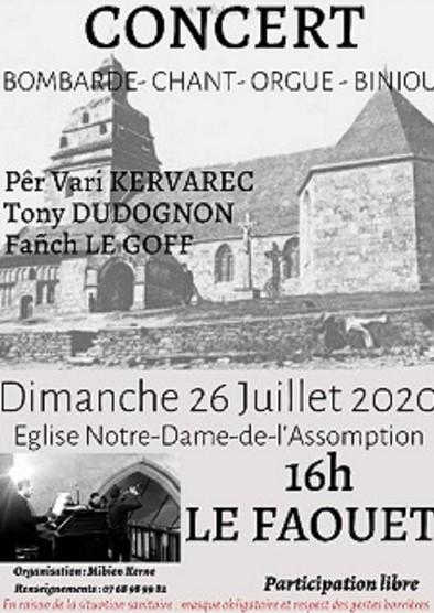 Concert Bombarde-chant-orgue-biniou