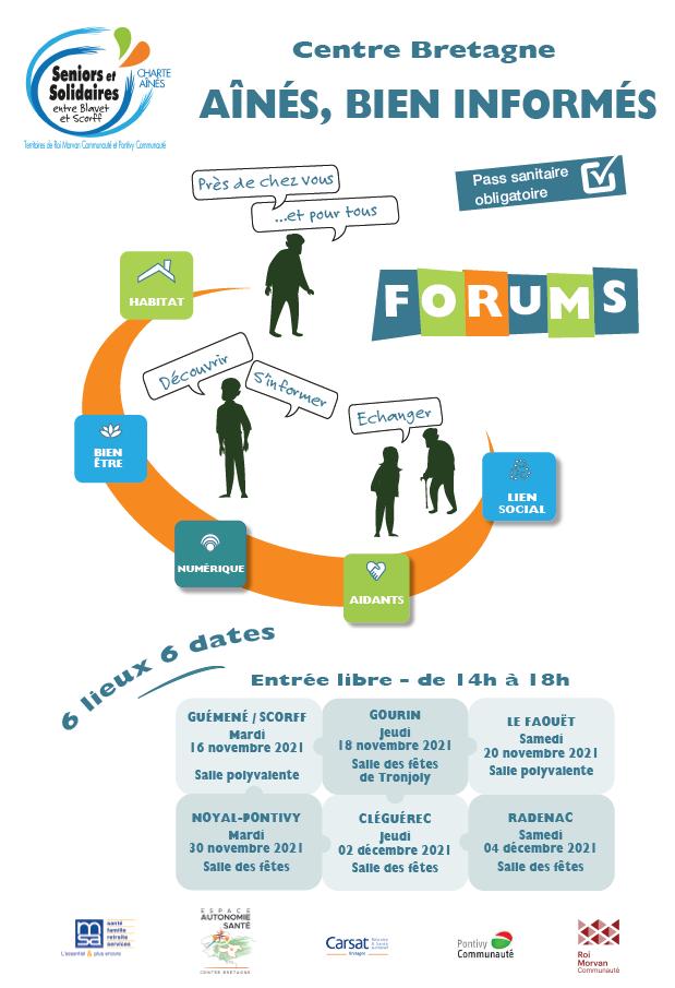 FORUMS «Ainés : bien informés» par Roi Morvan Communauté